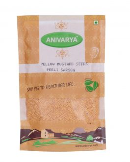 Yellow Mustard Seeds (Peeli Sarson) 200 GM