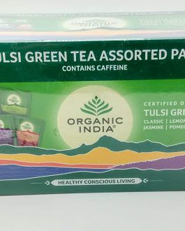 Tulsi Green Tea Assorted 25 Teabags Box