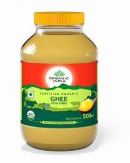Organic Desi Ghee 500ml Glass Bottle