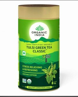 Tulsi Green Tea 100g Tin