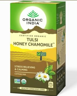 Tulsi Honey Chamomile 25 Teabags Box